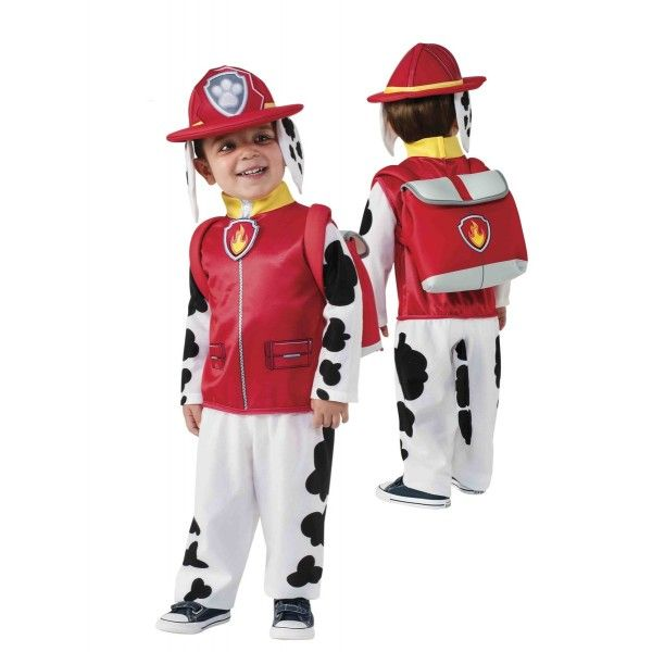 DisfracesMimo, disfraz marshall patrulla canina para niño varias tallas. La…