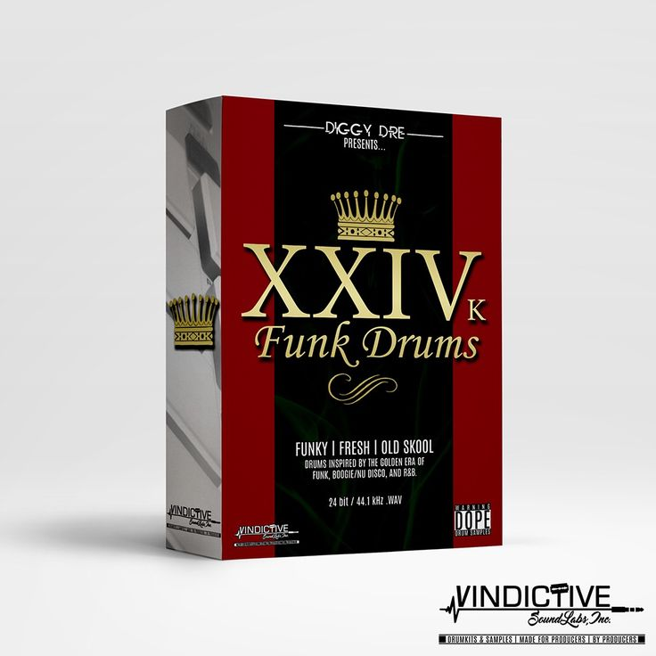 Image of XXIVk FUNK DRUMS