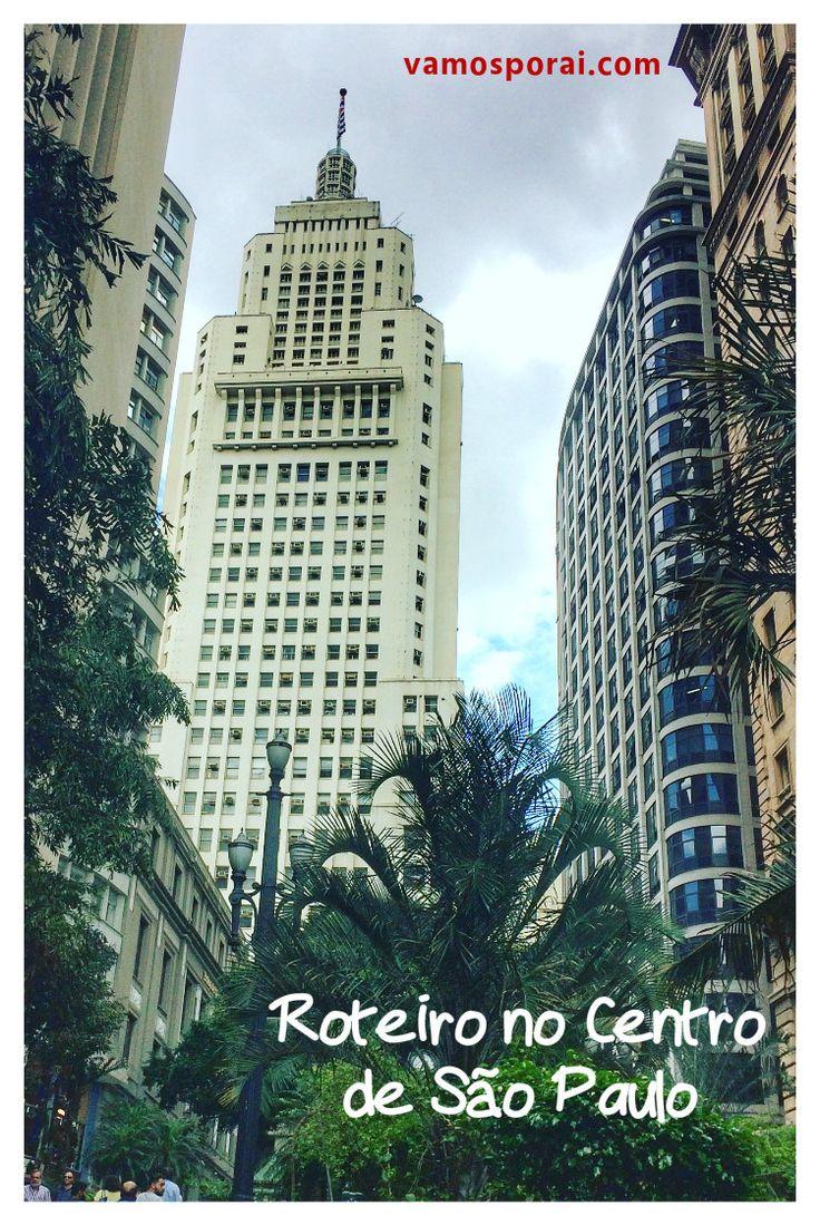 Quer conhecer os principais pontos turísticos de São Paulo? Veja este roteiro a partir da Estação de Metrô Sé. Conheça a Catedral, o prédio do Banespa o Mirante do Ed. Martinelli e muito mais.