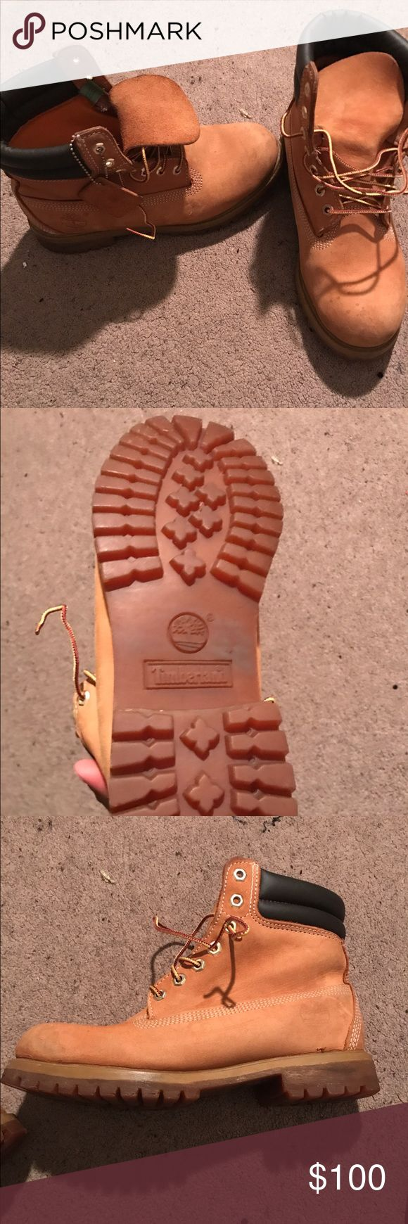 Wheat timberland boots Wheat tims still in great condition size 9 Timberland Shoes Boots