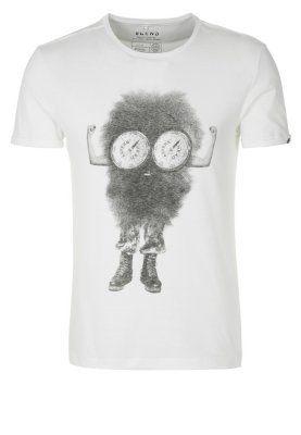 T-shirts print - hvid