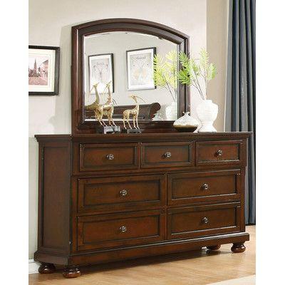 7 Drawer Dresser with Mirror - http://delanico.com/dressers/7-drawer-dresser-with-mirror-642218003/