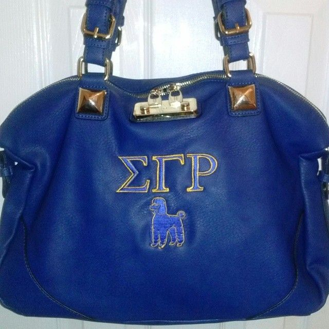 Sigma Gamma Rho handbag