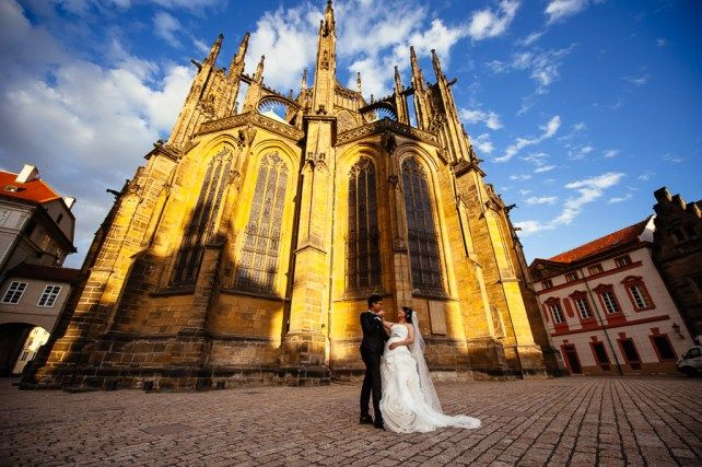 Свадебное путешествие в Прагу: Собор Святого Вита