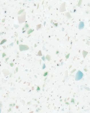Formica 505 Sea Glass -- the most absolutely perfect kitchen countertop there could ever be!! I don't even need to look any further: this is it!