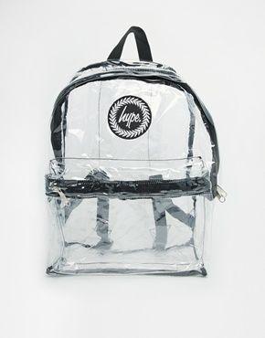 Enlarge Hype Transparent Backpack