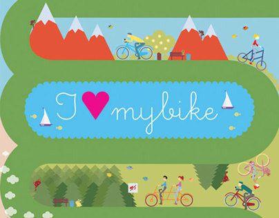 "Check out new work on my @Behance portfolio: ""I love my bike"" http://on.be.net/1iokj4C"