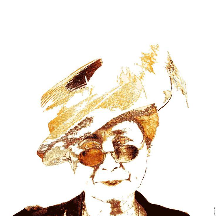 Graphics Yoko Ono (2)