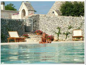 Affitto Trulli con piscina- affitto trulli - con piscina privata Puglia