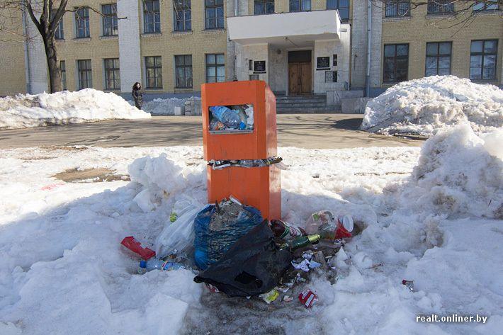 Подземные мусорные баки.: engineering_ru