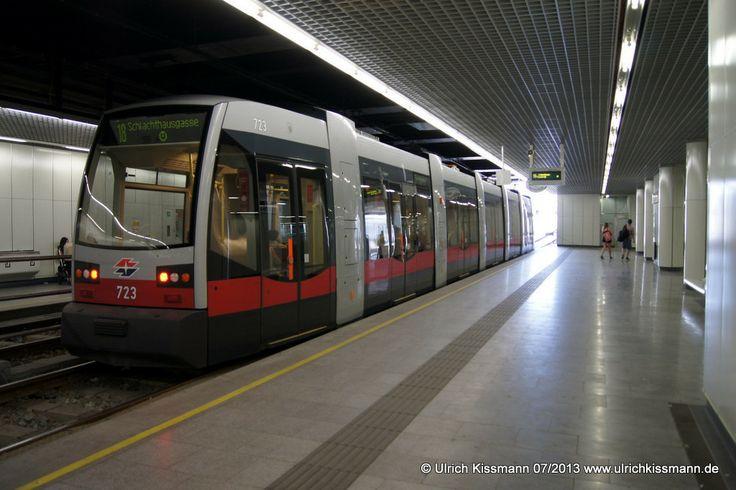 723 Wien Hauptbahnhof 08.07.2013 - SGP ULF B1