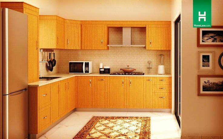14 best l shaped modular kitchens images on pinterest - L shaped indian modular kitchen designs ...