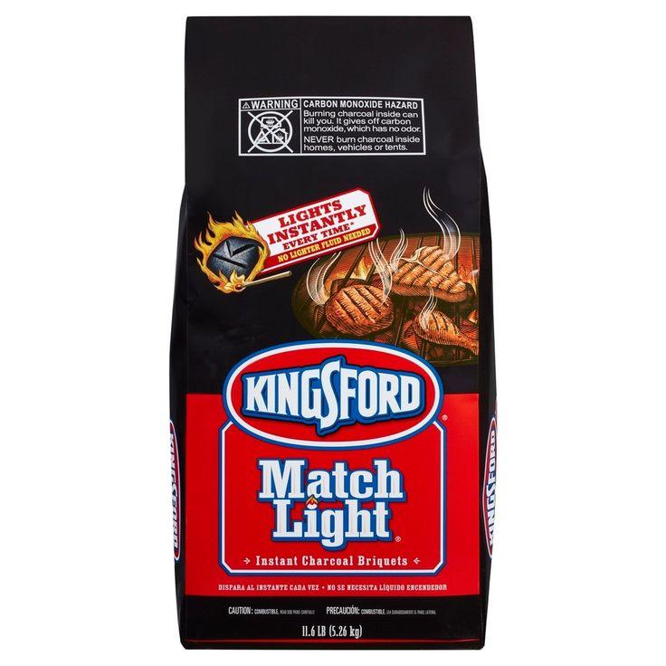 Kingsford Match Light Instant Charcoal Briquettes 11.6 lb Bag