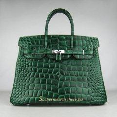 hermes travel wallet - Sacs Herm��s Pas Cher Birkin 35cm Crocodile Veins Cuir Sac Fonc�� ...