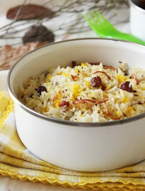 Meat and Rice Biryani