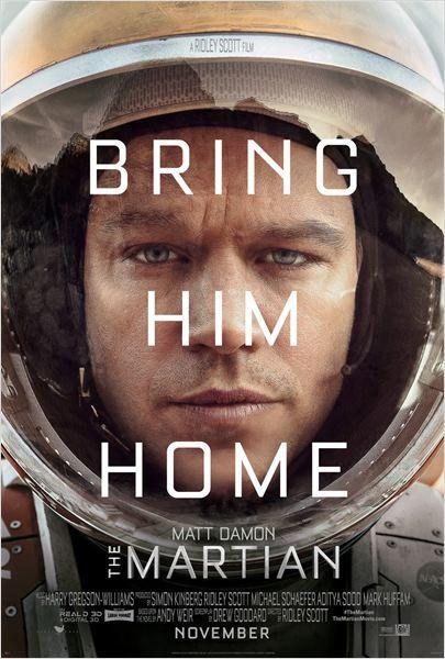 The Martian (Seul sur Mars) - Ridley Scott, 2015 - Starring Matt Damon