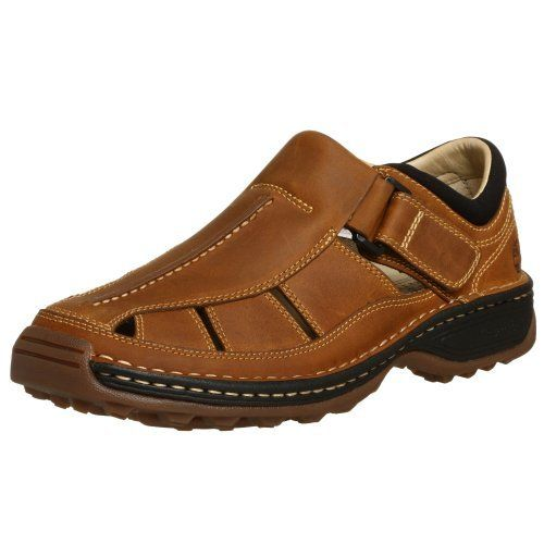 Timberland Men's Altamont Fisherman Sandal Timberland. $79.99. Removable multi-density orthotic provides support and comfort. Airport friendly nylon shank provides support, stability and shock dispersion and will not set off airport detectors. leather. Smart Comfort system technology for all-day comfort and support. Rubber sole. Climate-control lining for durability. Polyurethane midsole for maxiumum support