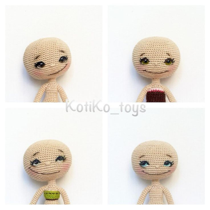 Обычно девушки стесняются  показывать себя с утра, без макияжа и прически, но мои об этом не слышали.  Очень скоро (я надеюсь) будут 4 свободные куколки.  Осталось сделать волосики и частично одежку. #doll#instadoll#crochet#handmade#cat#crocheting#instacrochet#kotiko_toys#kotiko#интерьер#вязаннаякукла#подарок#куклыназаказ#куклыручнойоаботы#котико#кукла#вязаниеназаказ#toys#инста_ярмарка#человечки#инстамама#детям#процесс#ручнаяработа#Mysolutionforlife#мастеркрафт#хочу_в_ленту_yh