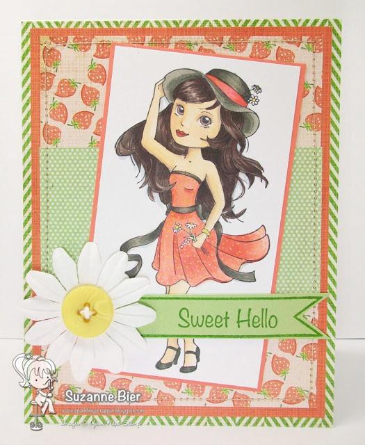 Your Next Stamp Fun Friday June Challenge - Summer (Darling Diva)