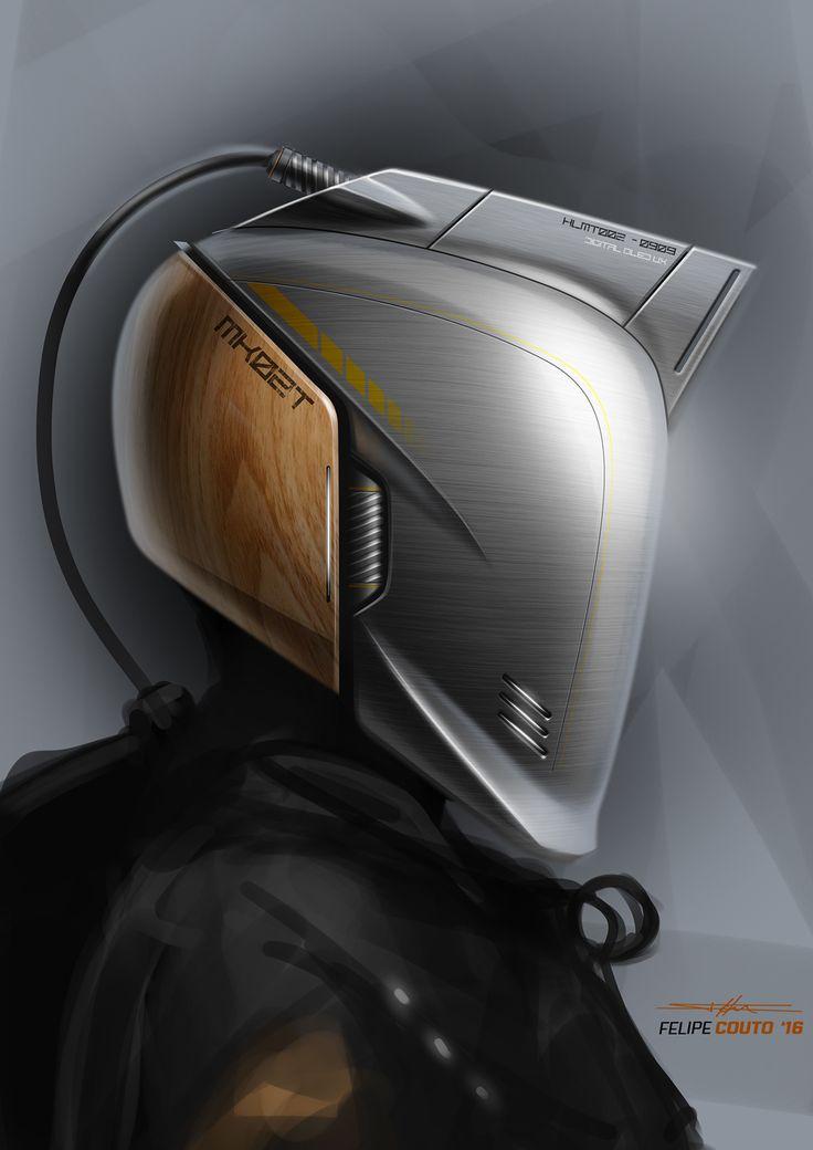 Helmet challenge on Behance