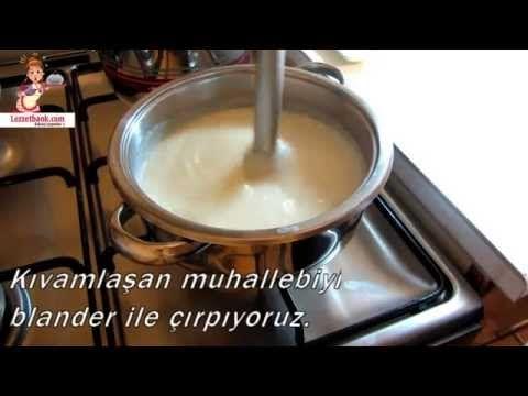 Muhallebili Kadayıf Tarifi (Videolu) - Lezzetbank