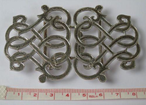 "Silver ""nurses buckle"" Hallmarked JHL London 1982 [eBay]"