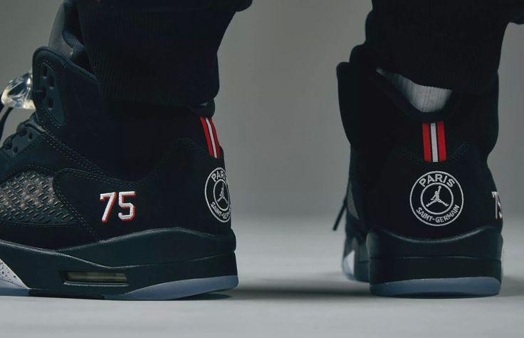 Air Jordan 5 Retro 'Paris Saint Germain' #airjordan #jordan ...