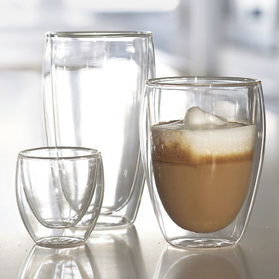 Bodum® Pavina Espresso Cup in Coffee Mugs, Teacups | Crate and Barrel