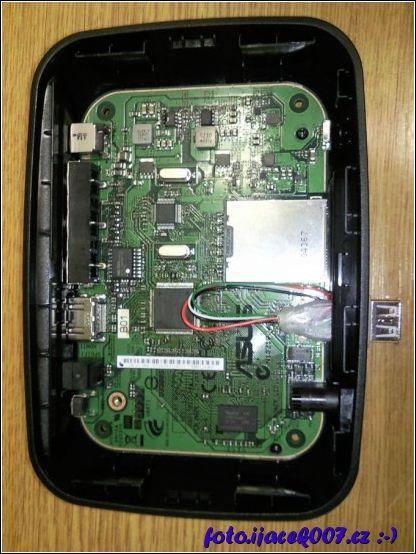 Oprava USB konektoru Asus Oplay