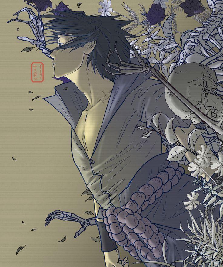 Mikoto Uchiha Sharingan
