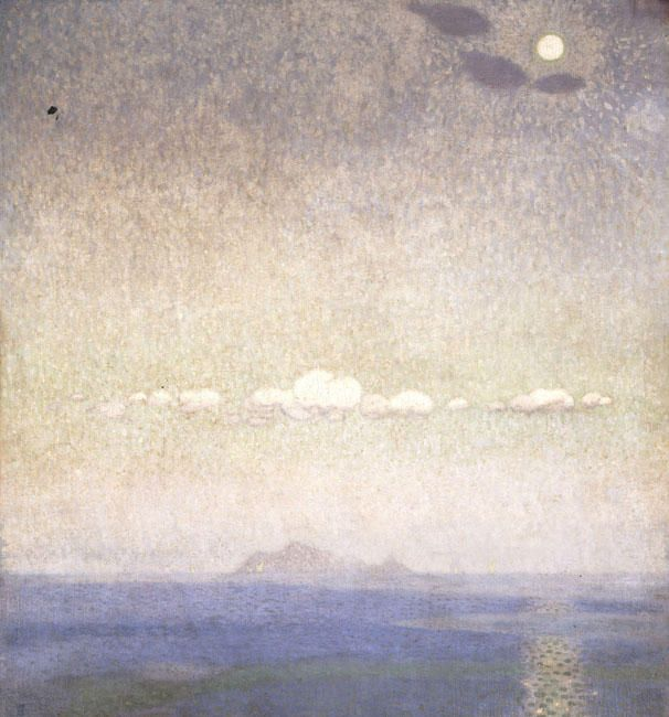 'Landscape (8)', 1903 by Konstantinos Parthenis (1878-1967, Egypt)