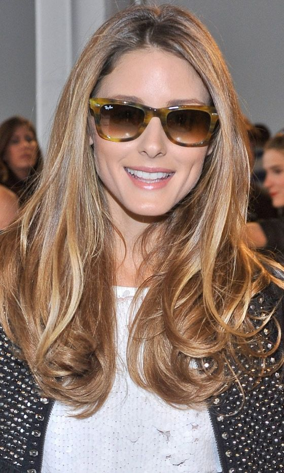 Olivia Palermo's Long Hairstyle, 2013