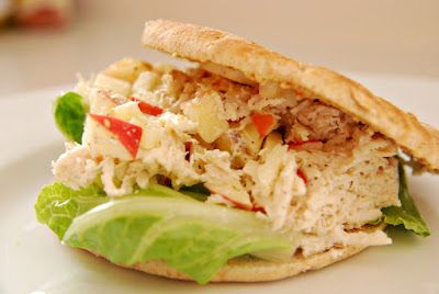 Greek Yogurt Chicken Salad with Apples and Thyme