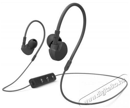 Hama Clip-On Bluetooth sport fülhallgató (177094) - fekete Audio-Video / Hifi / Multimédia - Fül és Fejhallgatók - Fülhallgató mikrofonnal / headset