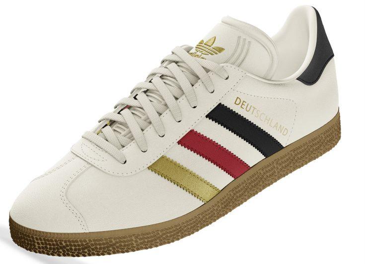 Adidas Mi Gazelle World Pack - Germany | Adidas, Adidas football ...