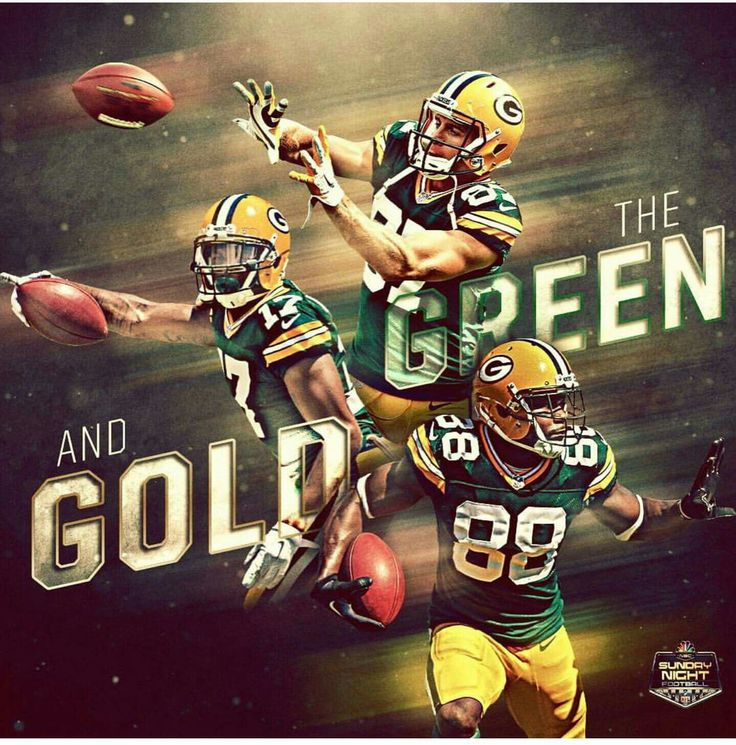 Green Bay Packers Gold & Green Forever