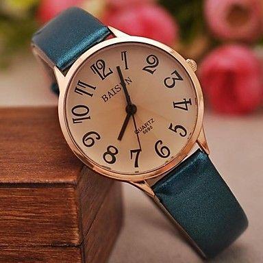 damesmode gecontracteerd lichte huid grotere aantallen horloges (assorti kleuren) – EUR € 8.63