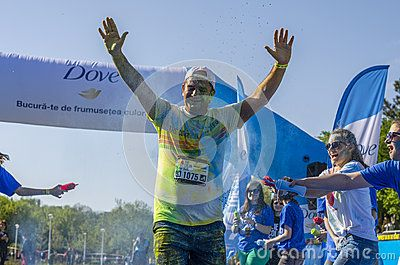 Download this Editorial Photo of Runner Sprayed With Blue Powder for as low as 0.68 lei. New users enjoy 60% OFF. 23,006,035 high-resolution stock photos and vector illustrations. Image: 40157126