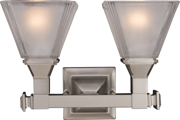 Maxim 11077FTSN - Brentwood 2-Light Bath Vanity