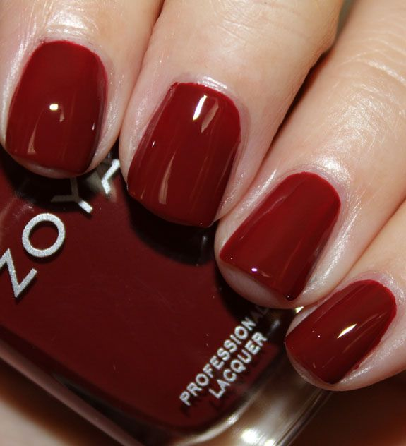 Zoya - Pepper. Swatched.