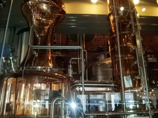 Mill Street Brewery - This is an awesome copper still.