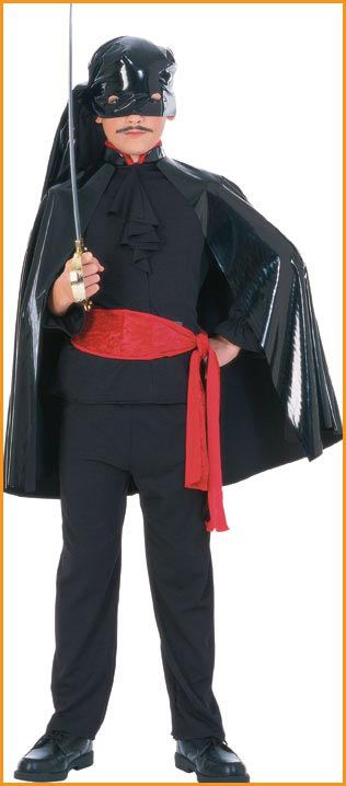 Discount Costumes El Bandito Kids Halloween Costume. includes: wet look vinyl headpiece and cape, shirt with red velvet waist sash. $12.60 Kids Halloween Costumes Clearance Sale