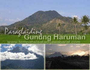 Paraglading Gunung Haruman