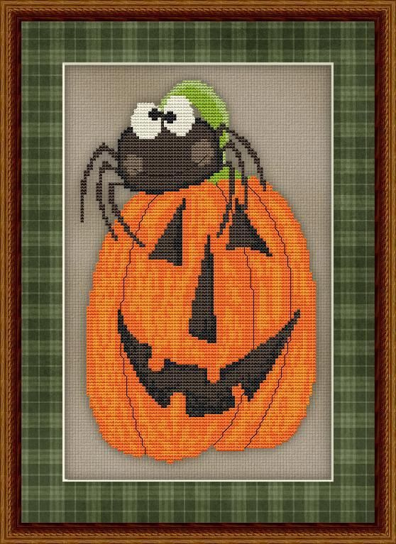Looking for your next project? You're going to love Silly Spider #2 Cross Stitch by designer StitchX 1.
