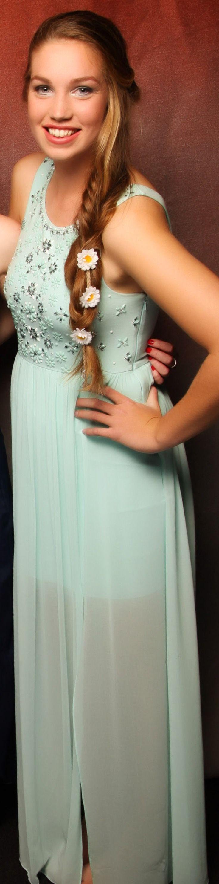 Pukekohe Ball 2015. Floral and feminine! www.whitedoor.co.nz