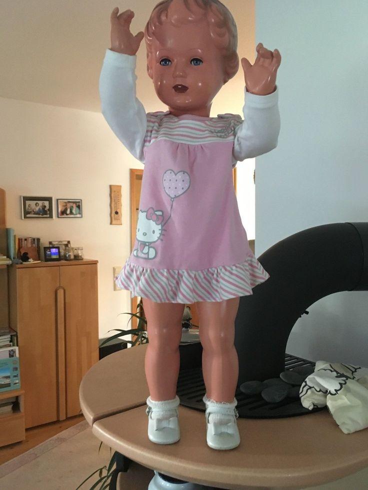 sehr schöne Schildkröt Puppe / Sammlerpuppe 70 cm | eBay