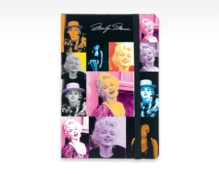 Carnet de notes ligné / Lined notebook Marilyn Monroe | A6 (small) - Quo Vadis