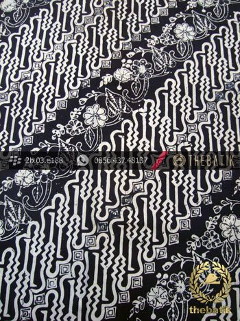 Kain Batik Cap Kelengan Motif Parang Curigo Seling | Unique #Indonesia #Batik #Fabric Pattern Design http://thebatik.co.id/kain-batik-bahan/