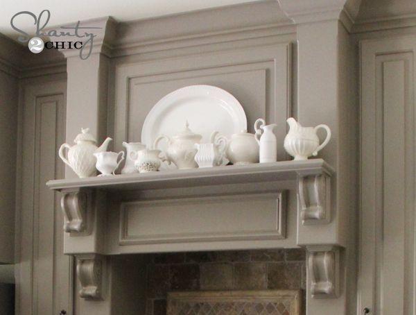 49 best House: Kitchen Decor Hood Mantel images on Pinterest | All ...