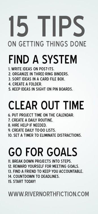 Tips on getting stuff done #studyskills #homeschool #life college